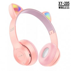 """Бездротові Bluetooth-навушники """"Котячі вушка"""" CAT ear XY-205"""