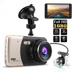Автомобільний відеореєстратор DVR T652 Full HD 1080p з камерою заднього виду