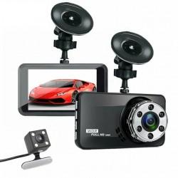 Автомобільний відеореєстратор DVR T638+ Full HD 1080p з камерою заднього виду