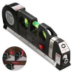 Лазерний рівень з вбудованою рулеткою Laser Level Pro3