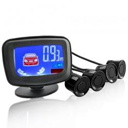 Парковочная система на 4 датчика парковки парктроник Assistant Parking Sensor Black с экраном