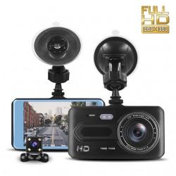Відеореєстратор автомобільний T686 4.0 Full HD 1080P | Камера заднього виду