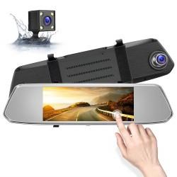 Зеркало с видеорегистратором 7'' L1029, / 2кам FULL.HD