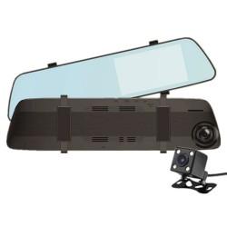 Зеркало с видеорегистратором 9.66'' L1022 TP, / 2кам FULL.HD