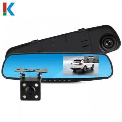 Зеркало с видеорегистратором 4.3'' L9000, / 2кам FULL.HD