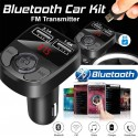 Автомобильный трансмиттер FM модулятор X22 Bluetooth