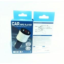 X20 Автомобильный Bluetooth трансмиттер (модулятор)